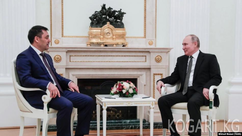 Путин: Орусия кыргыз-тажик чек ара маселелерин чечүүгө көмөктөшөт