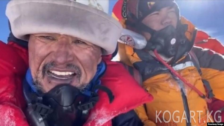 Эдуард Кубатов: Эвересттеги жеңишимди кыргыз элиме арнайм