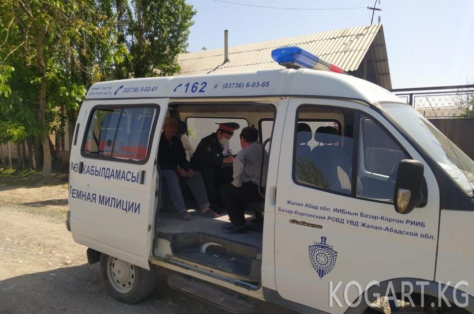 Жалал-Абад облусунда милициянын көчмө кабылдамасы жарандардан 367 кайрылуу кабыл...