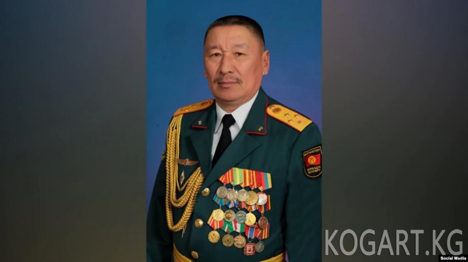 Коргоо министри болуп Бактыбек Бекболотов дайындалды