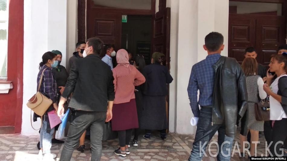 Министрлик тажикстандык студенттер тууралуу маалымат берди