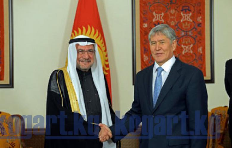 Президент А.Атамбаев Ислам кызматташтык уюмунун Башкы катчысы Ияд бин...