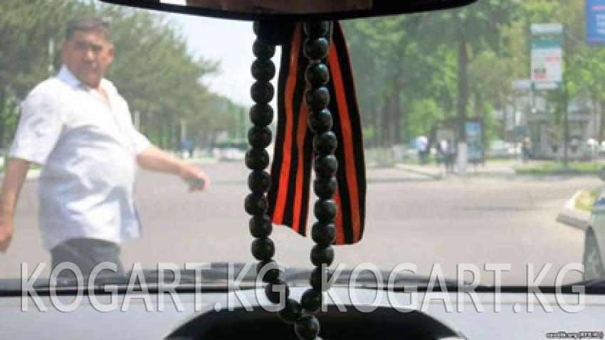 Ташкентте милиция автоунаалардагы