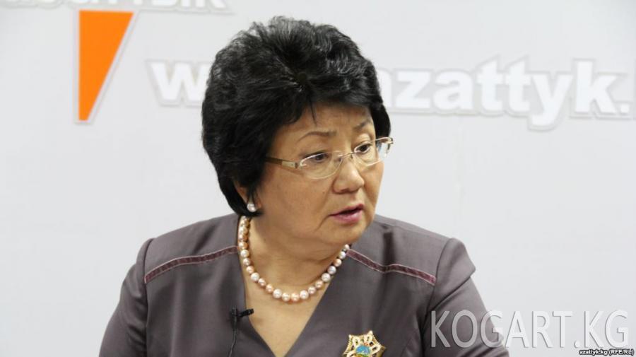 Экс-президент Отунбаева мамлекет башчыдан Текебаевге ырайым берүүнү...
