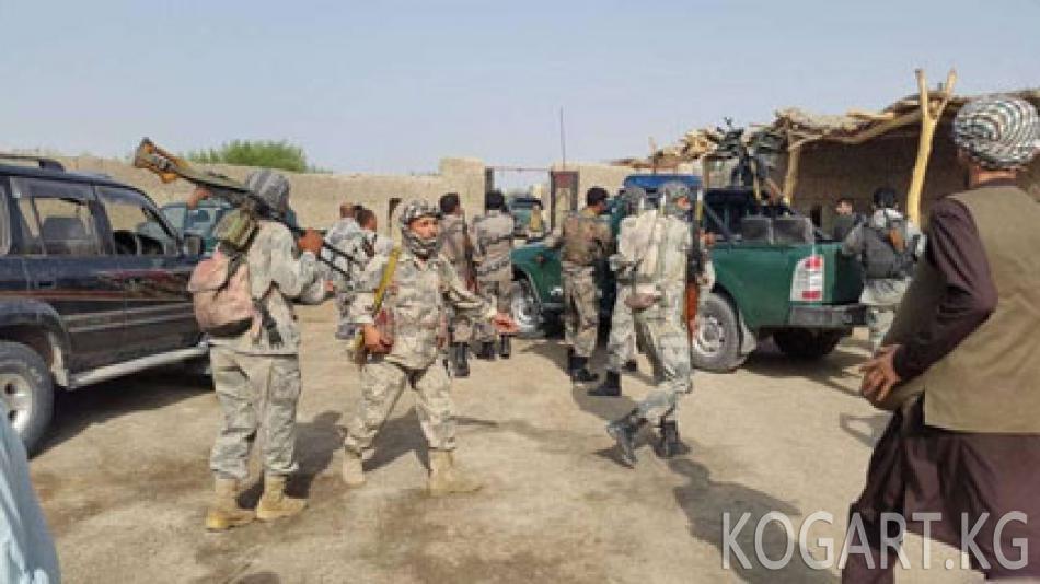 Талиптер өзбек-тажик чек арасына жакын районду басып алды