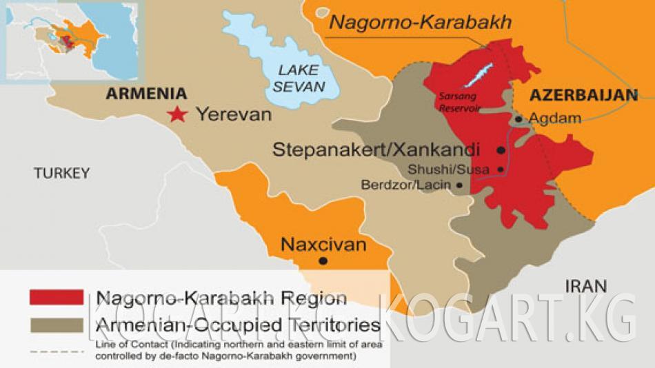 Армения өкмөтү Карабактын көз карандысыздыгын таанууну колдоду