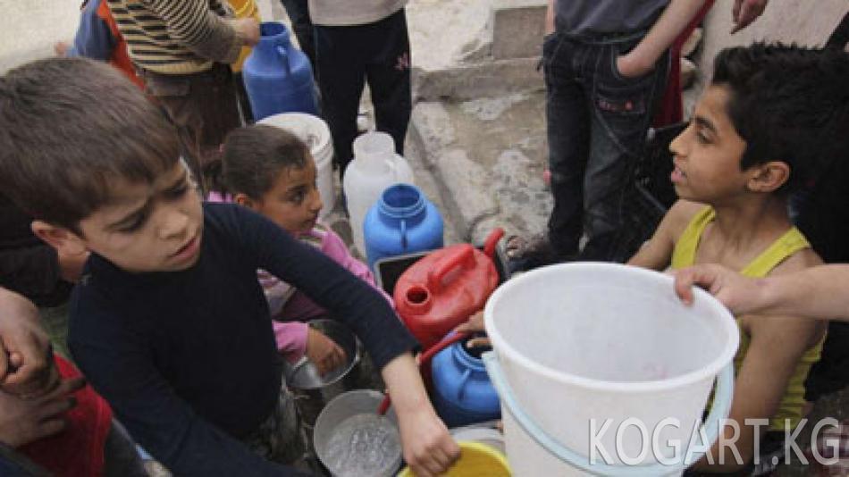 БУУ: Алепподогу абал гуманитардык кыйроого жакындады