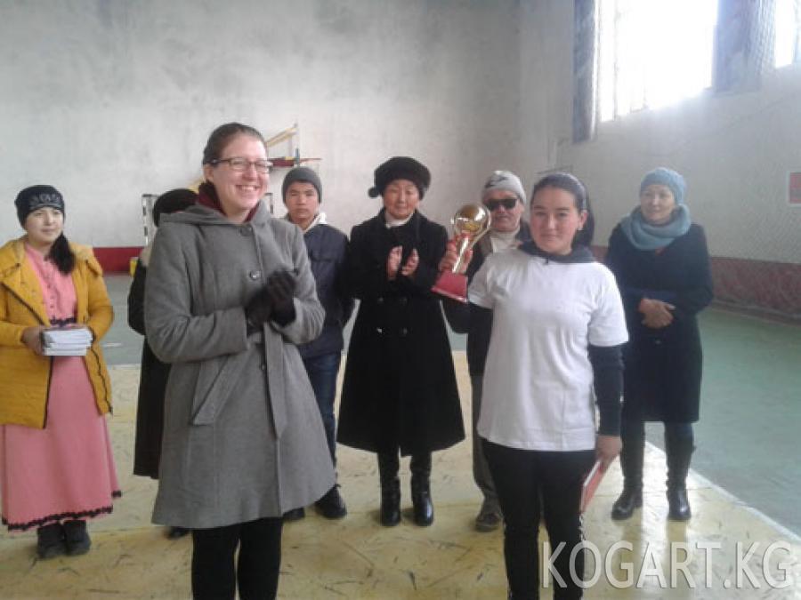 Жалал-Абадда кыздар арасында футбол боюнча мелдеш өттү (ФОТО)