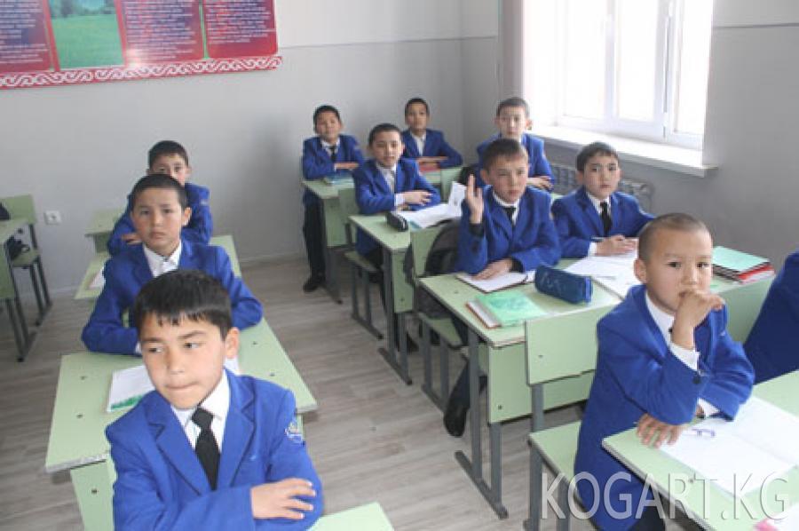Облус башчысы Кыянбек Сатыбалдиев Сузактагы мектепте болду (Фото)