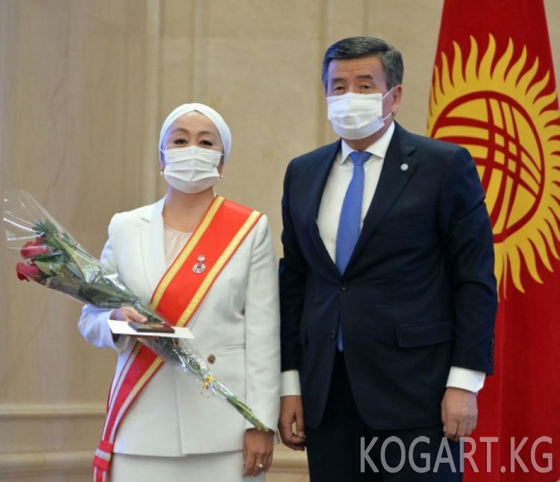 Коронавирус пандемиясына каршы күрөшкө салым кошкон кыргызстандыктарга...